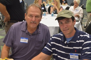 Wright Security Systems President and CEO, Noel Wright III and his son, Andrew Wright