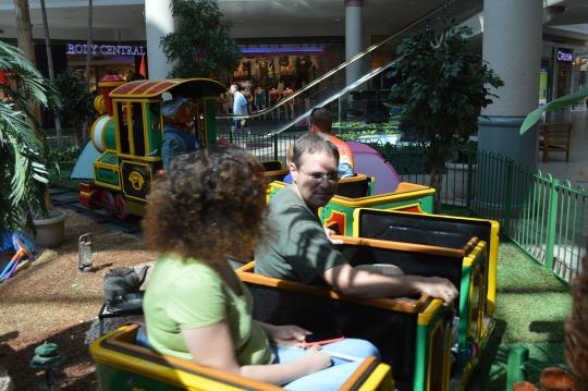 Savannah Mall Train Retirement Party - Sunday, June 29
