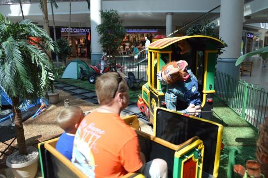Savannah Mall Train Retirement Party June 29