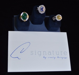 Craig Burgess Signature Collection Rings
