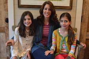 Robyn Shirley & her two daughters