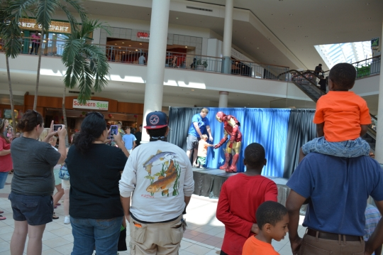 Superhero Saturday at Savannah Mall_0881Superhero Saturday at Savannah Mall