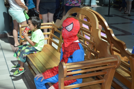 Superhero Saturday at Savannah Mall_1763