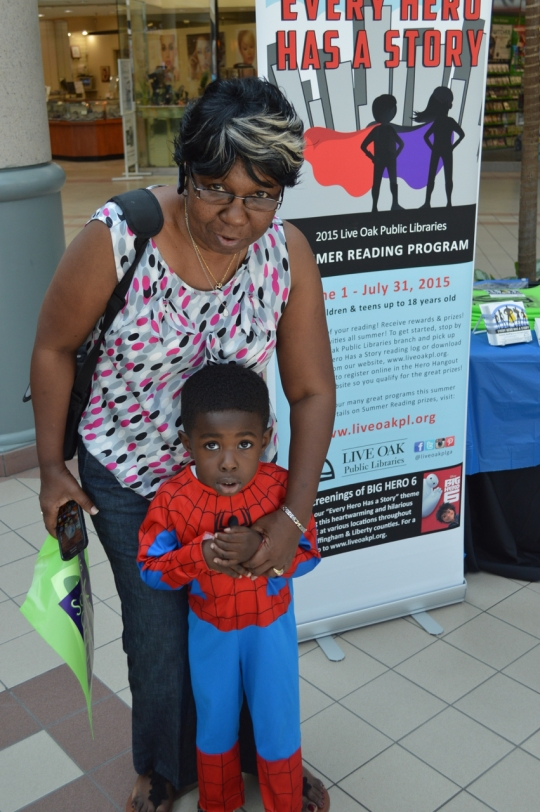 Superhero Saturday at Savannah Mall_1776