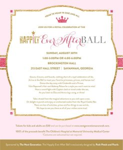 Happily Ever After Ball Invitation