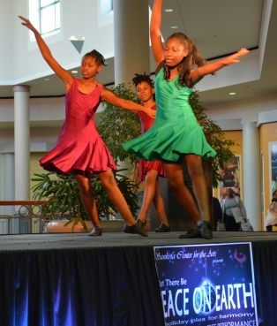 Performers from the Sankofa Center for the Arts at the Savannah Mall_3061