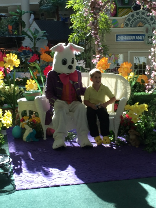 Easter Bunny and Zack Reardon Celebrate the Season.JPG