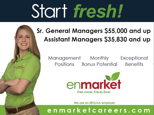 Enmarket Management and Employee Salaries Descriptions