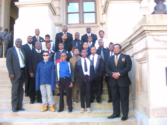 Savannah Rotary Sponsors Students from 100 Black Men of Savannah to Visit Georgia State Capitol
