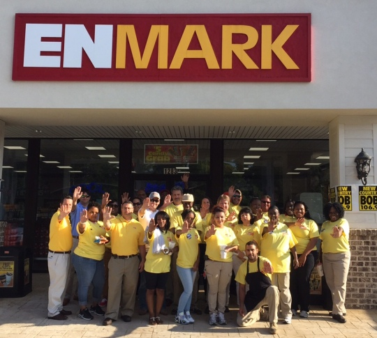 Enmarket Management Team on Full Service Friday 2015