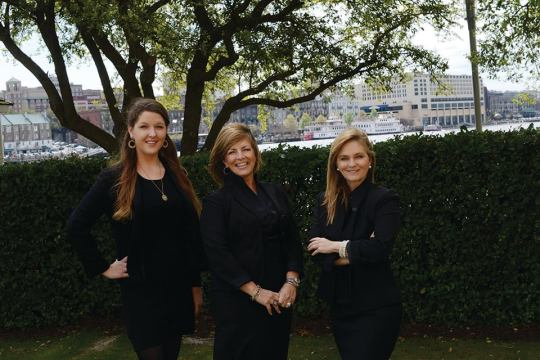 Carriage Trade Public Relations, Cynthia Wright, Cecilia Russo, Marjorie Young