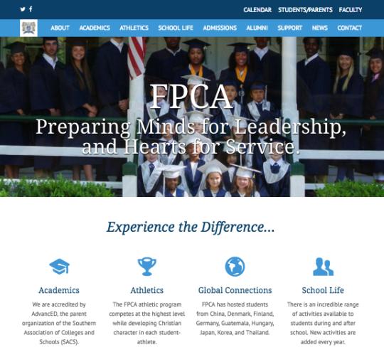 Speros' Website Homepage New