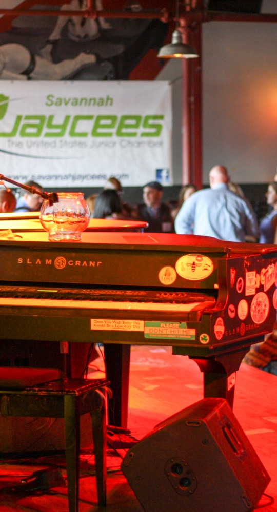Local singles were auctioned off to benefit six local charities at the Savannah Jaycees fourth annual Charity Date Night Auction.