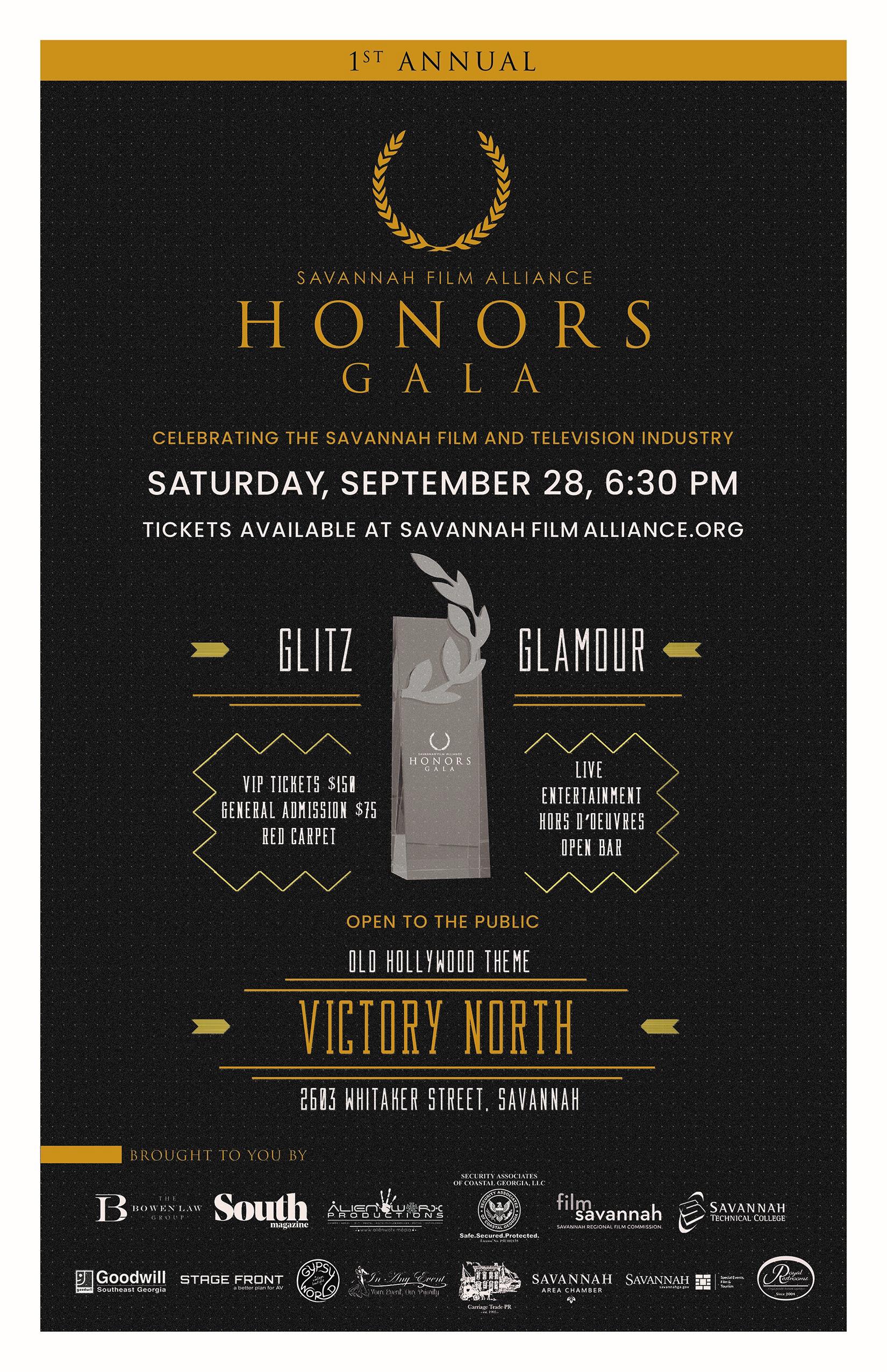 SFA Honors Gala Poster